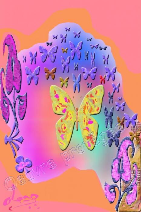 36 papillons