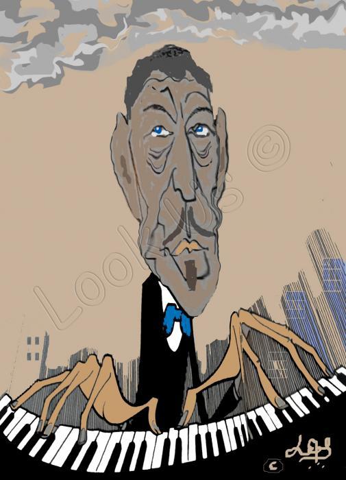 Jazz man in New York ©